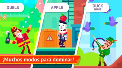 Screenshot for Bowmasters - Multiplayer Game in Mexico App Store