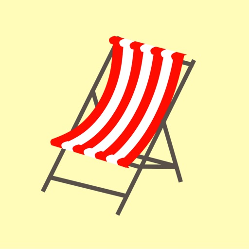 Beach Chair Sticker Pack