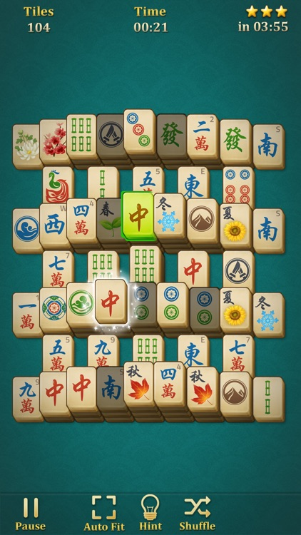 Mahjong Solitaire: Classic screenshot-3