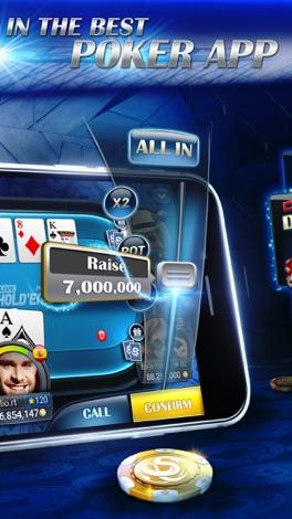 Live Hold'em Pro - Poker Game screenshot for iPhone