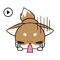 Animated Chihuahua Dog Sticker
