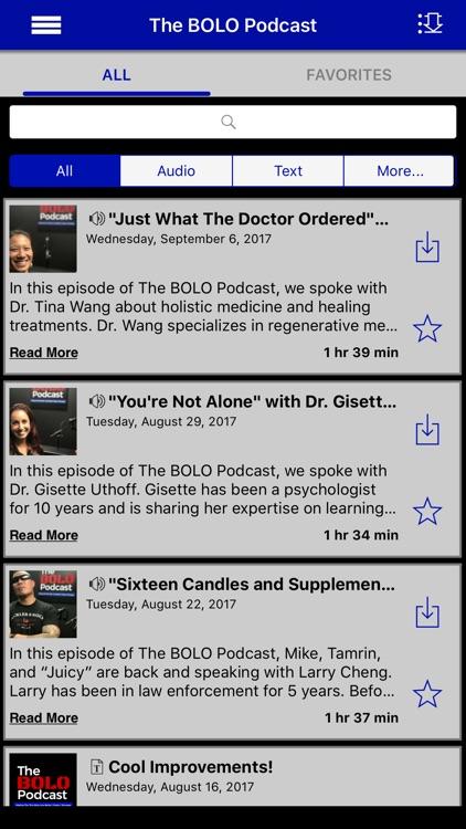 The BOLO Podcast