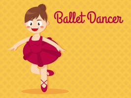 Downloads Cute Ballet Girls Stickers for iMessage