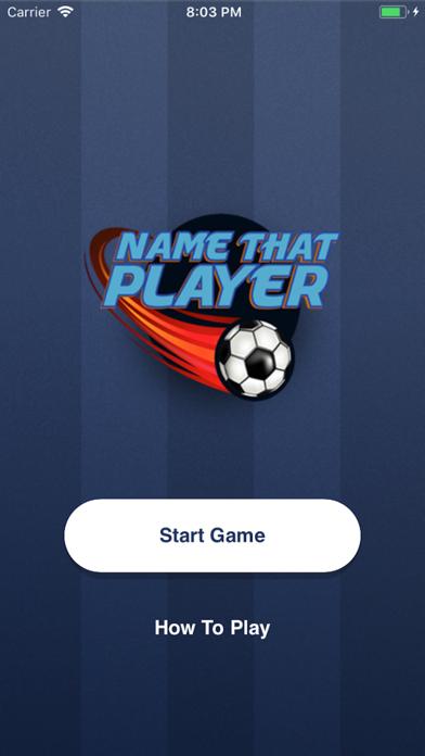 Name That Player screenshot one