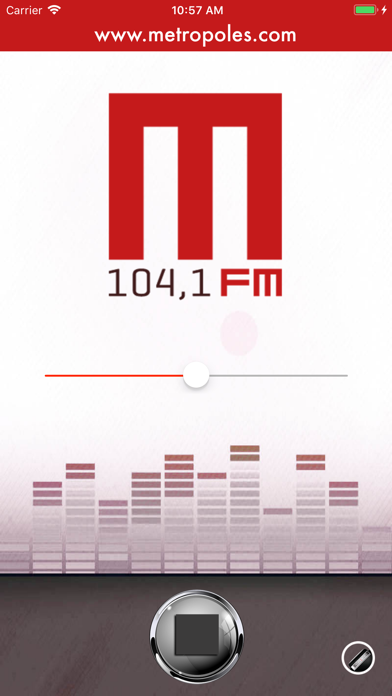 Rádio Metrópoles FM screenshot one