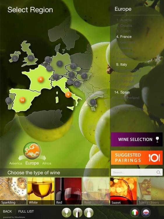WineAmore - Digital Wine List
