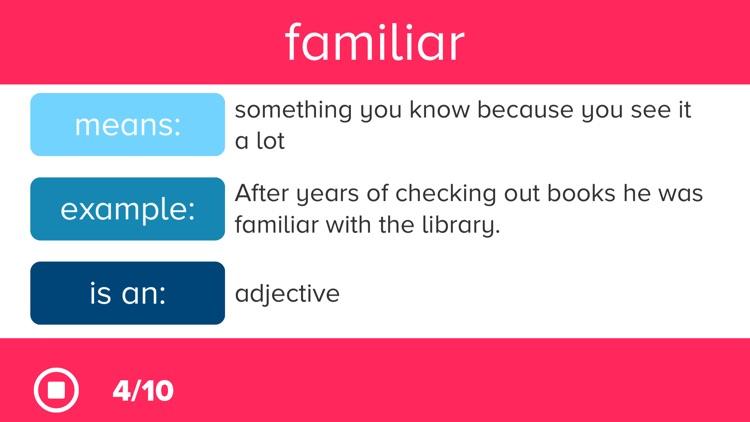 3rd Grade Vocabulary Prep screenshot-3