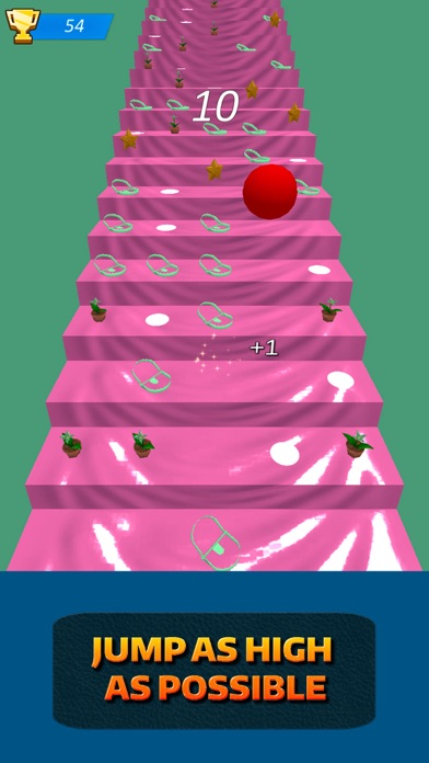 Stairs Running Ball screenshot two
