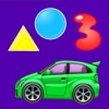 形状-色-幼児向けのキッズゲームの女の子 - iPadアプリ