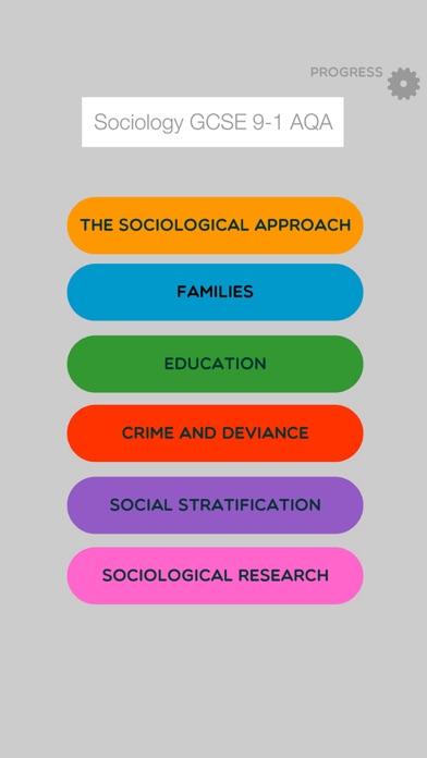 Sociology GCSE 9-1 AQA Games