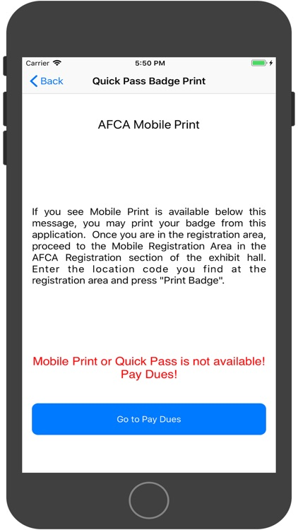 AFCA Mobile 2018 screenshot-1