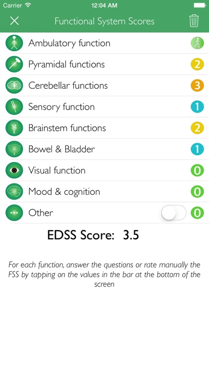 Easy EDSS Score screenshot-1