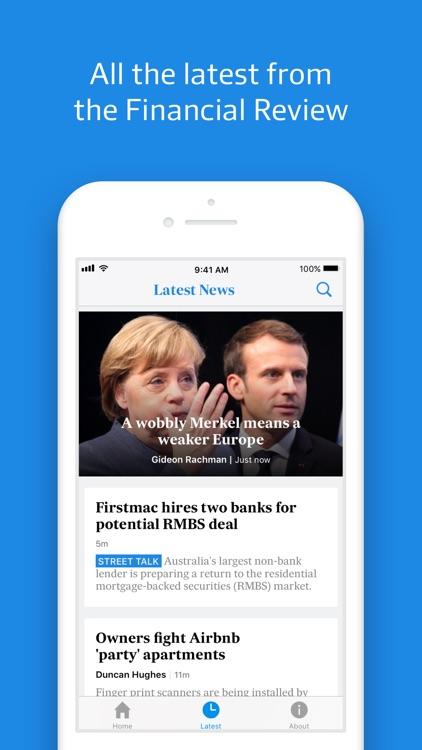 Australian Financial Review screenshot-3