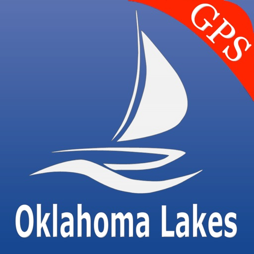 Oklahoma lakes Nautical Charts