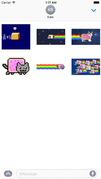 download Animated Cute Nyan Cat Sticker apps 0