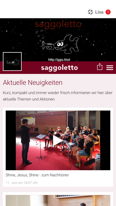 Saggoletto screenshot 1