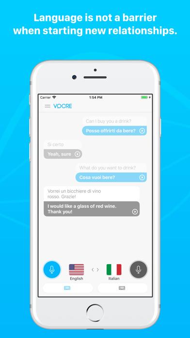 Vocre - traduci conversazione