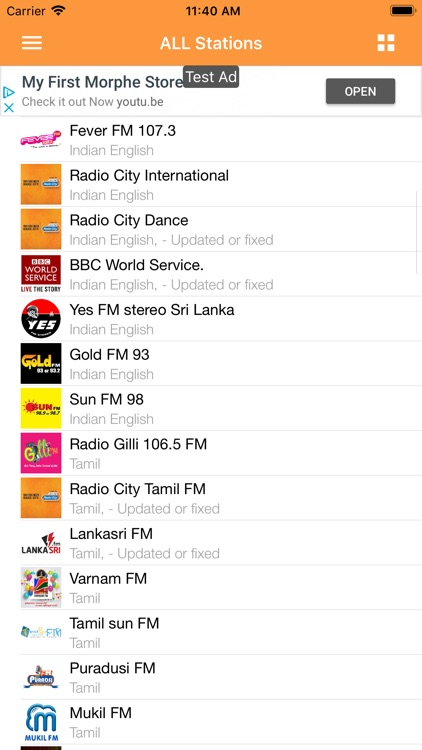 Indian Desi RADIO Music screenshot-1