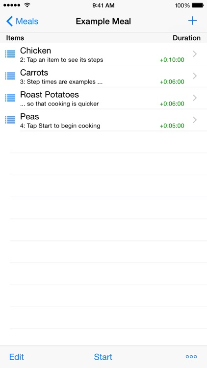 Easy Cooking Timer screenshot-3
