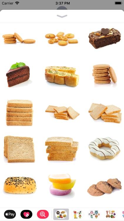 Sweet Treat Dessert Stickers screenshot-3