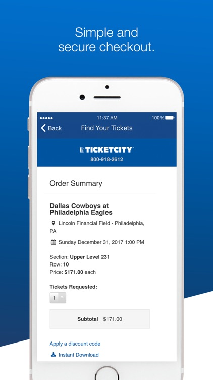 TicketCity: Top Event Tickets screenshot-3