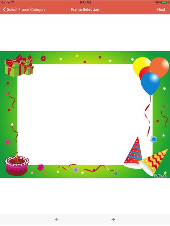 Happy Birthday Photo Frame Top | App Price Drops
