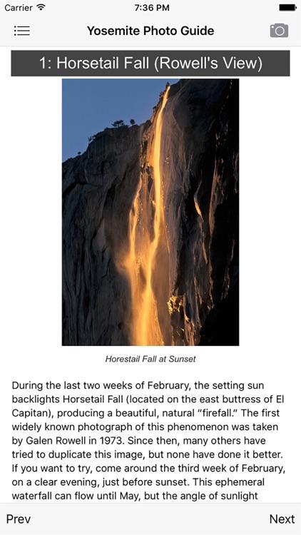 Yosemite Photographer's Guide
