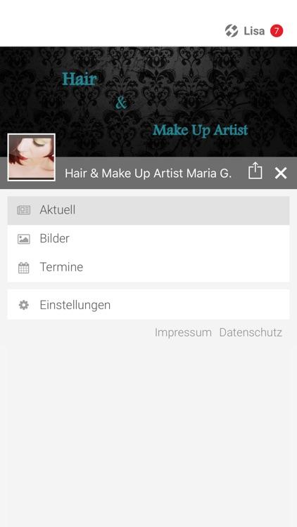 Hair & Make Up Artist Maria G.