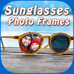 Stylish Sunglass Photo Montage