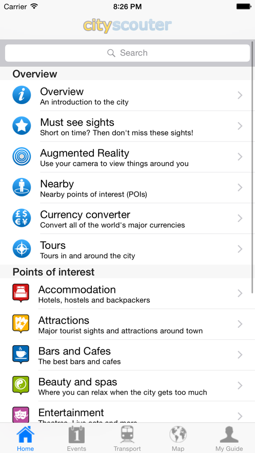 Shanghai Travel Guide Offline App 截图