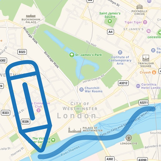 my Map Notes - Draw on map by Zhuoyao lu Maps You Can Draw On on