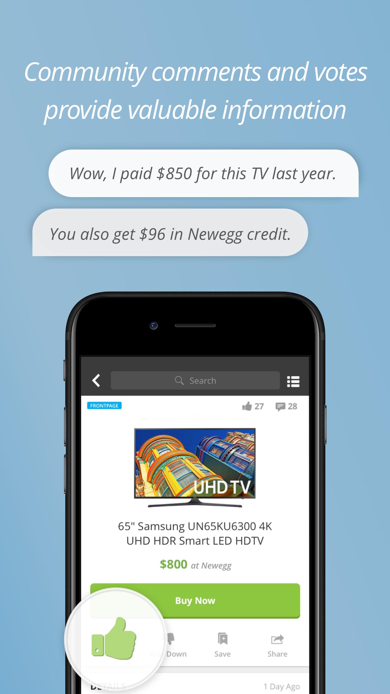 Slickdeals: Coupons & Shopping Screenshot