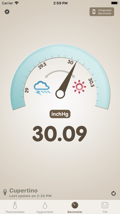Thermo-hygrometer screenshot-2