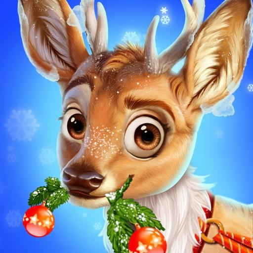 Christmas Reindeer Care Salon