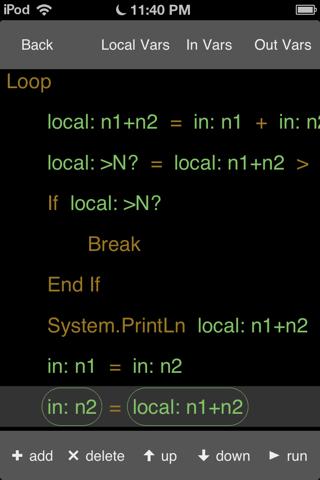IfLoop - náhled