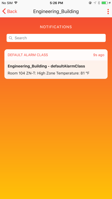 Raven - Smart Building Alerts screenshot two