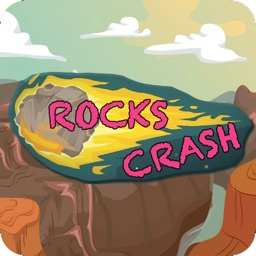 Rocks crash-crush match 4 game