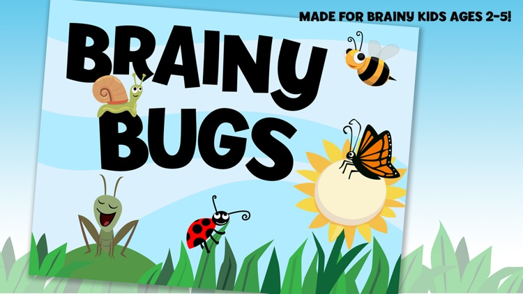 Brainy Bugs: Preschool Games screenshot-4