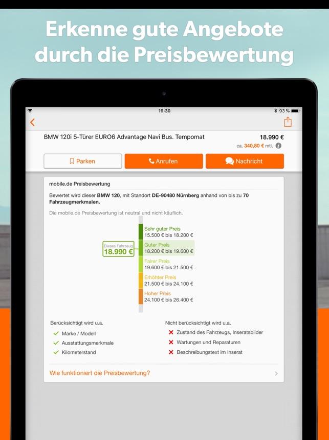 Mobilede Automarkt Im App Store