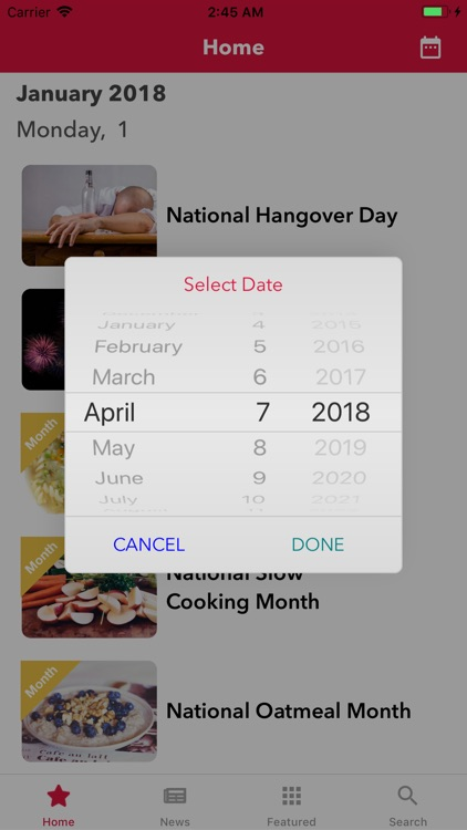 National Calendar App screenshot-1