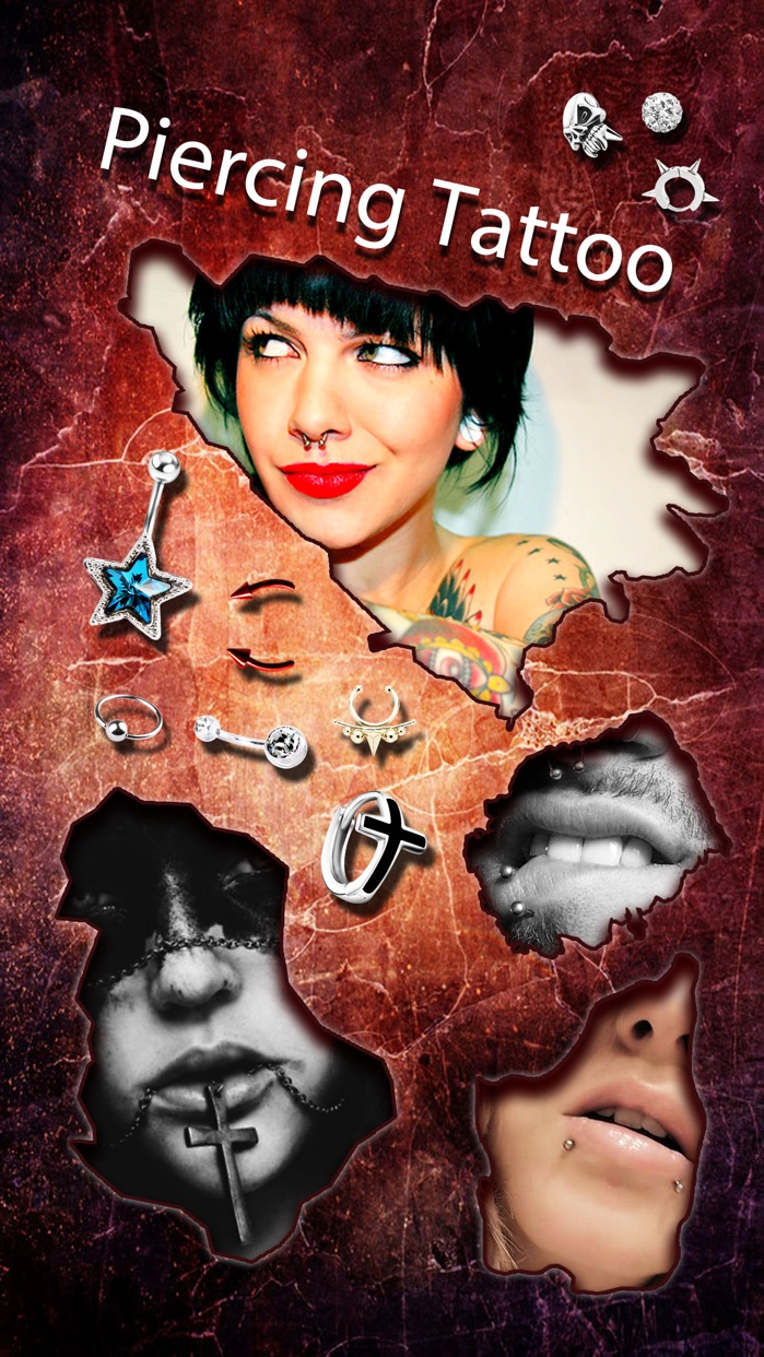 Piercing & Tattoo Design Booth Screenshot