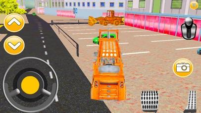 City Car Lifter Parking Game screenshot four