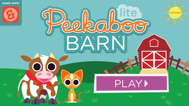 Peekaboo Barn Lite on the App Store