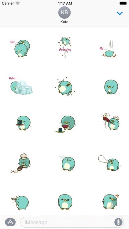 Adorable Penguin Sticker