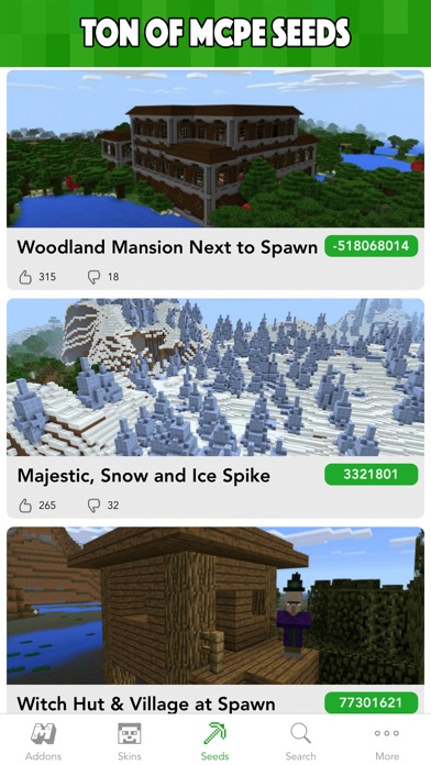 Download MCPE Planet - Addons, Maps, Skins for Minecraft PE for Pc