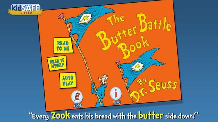 The Butter Battle Book - Dr. Seuss screenshot-0