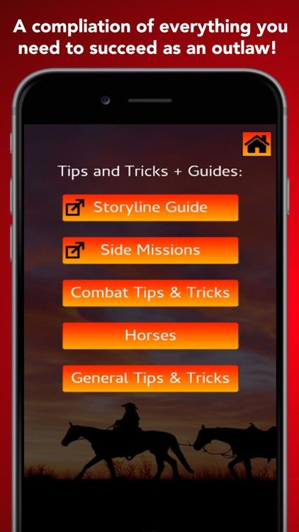 Unofficial RDR2 Tips & Tricks screenshot-3