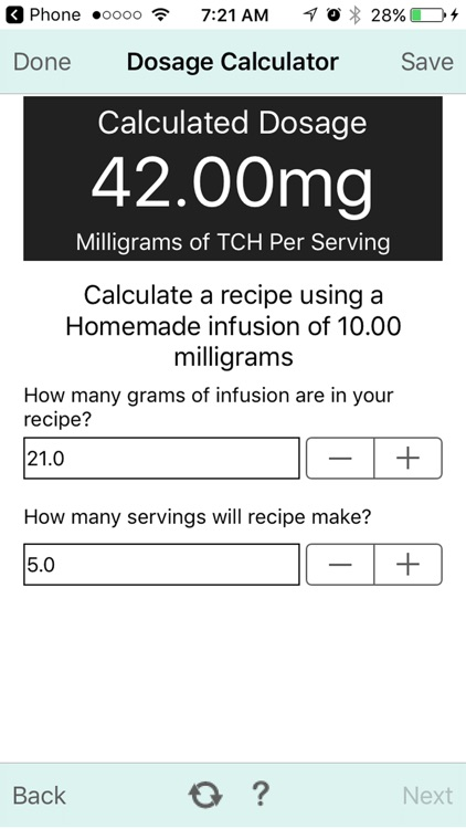 Dosage Calc 0.8.9 screenshot-2
