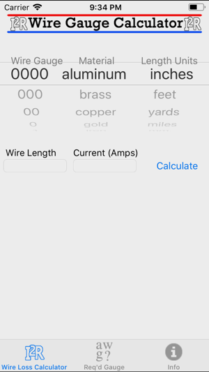 Wire gauge calculator on the app store iphone screenshots greentooth Gallery