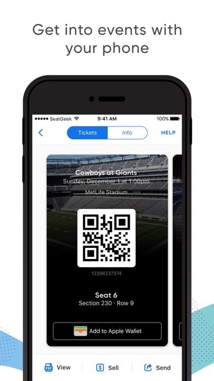 SeatGeek - Buy Event Tickets screenshot-3